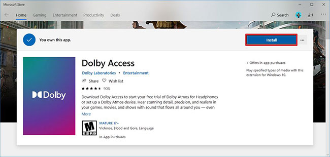 dolby access 2020