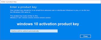 wndow 10 key